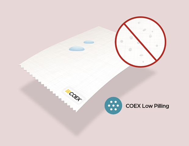 COEX Low pilling? With made of coex fuzzaballs do not form